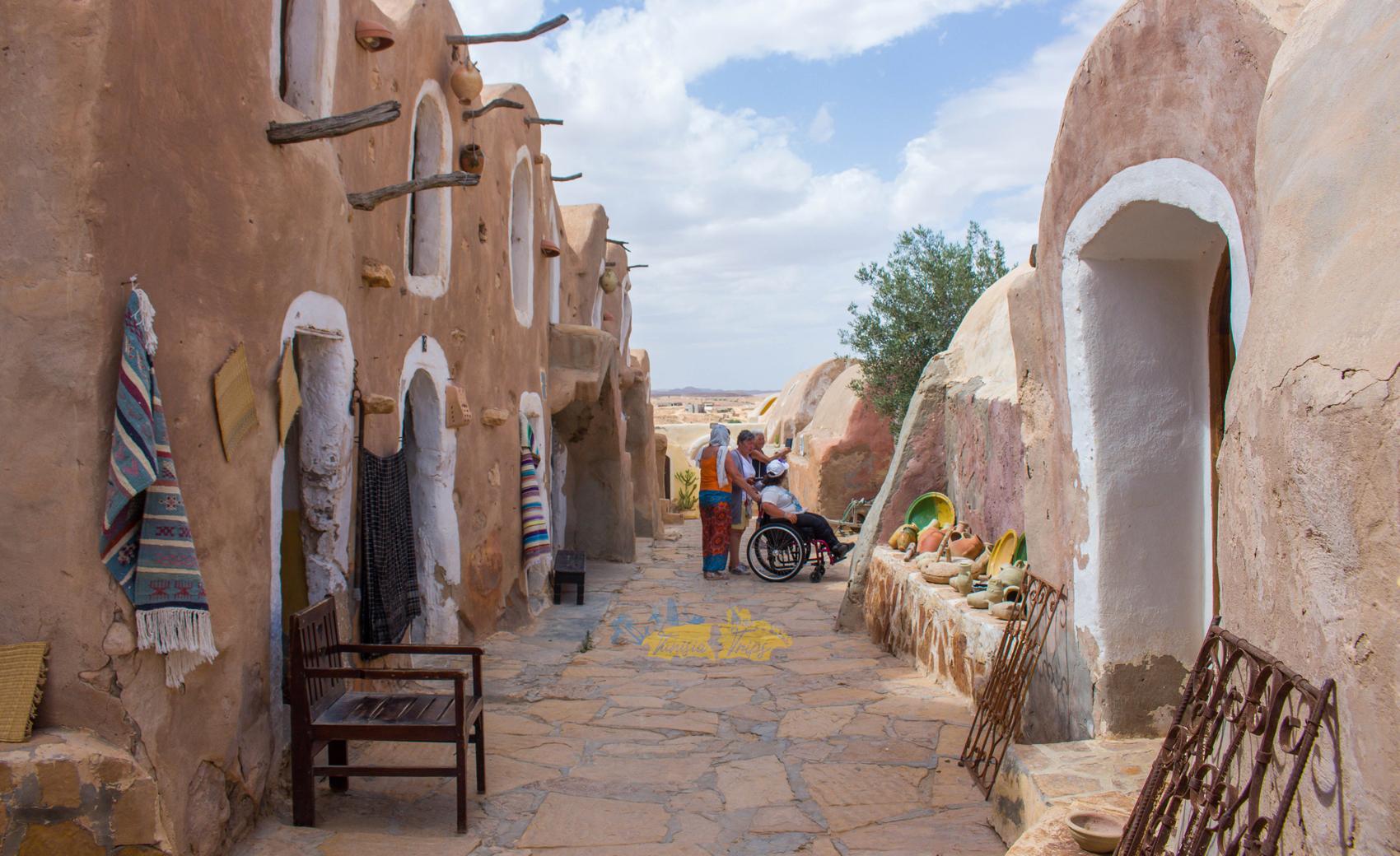 Excursion tataouine-chenini au départ de Djerba